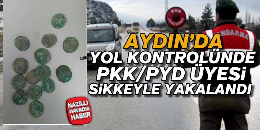 Aydın'da yol kontrolünde PKK/PYD üyesi yakalandı