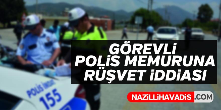 Polis memuruna rüşvet iddiası !