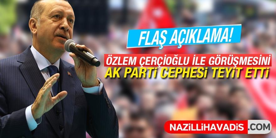 Cumhurbaşkanı Erdoğan ile Çerçioğlu görüşmesi