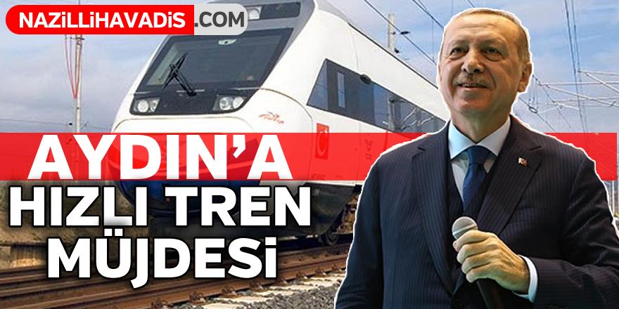 Cumhurbaşkanı Erdoğan'dan hızlı tren müjdesi