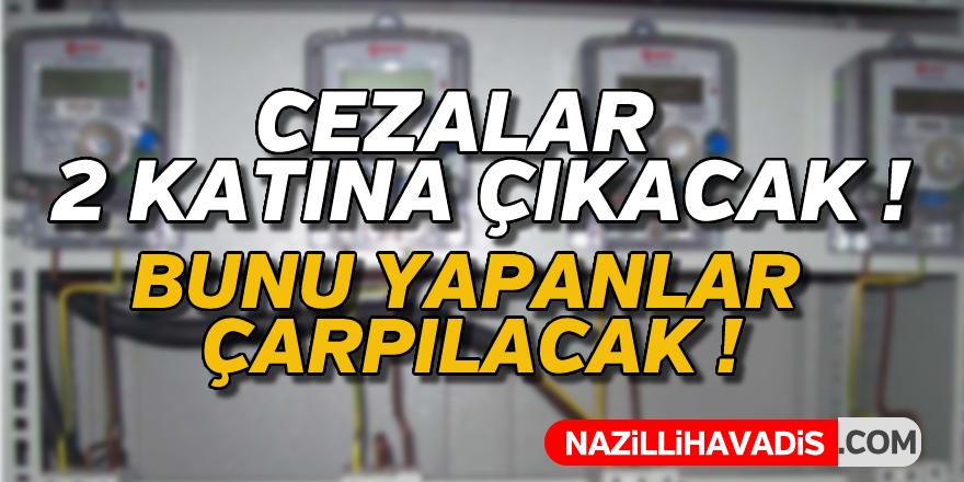 Kaçak elektrik kullananlara ceza