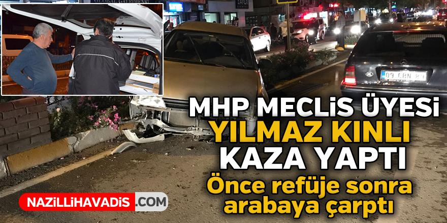 MHP'li Meclis üyesi kaza yaptı