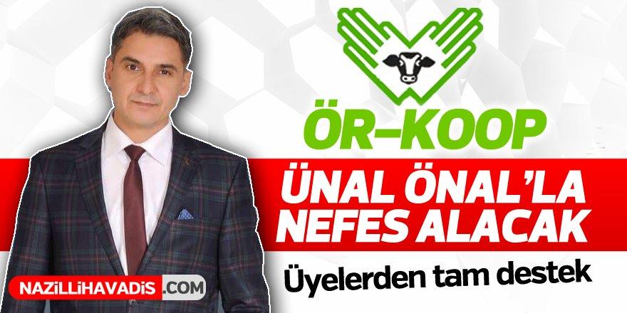 ÖRKOOP'un başkan adayı emin adımlarla geliyor