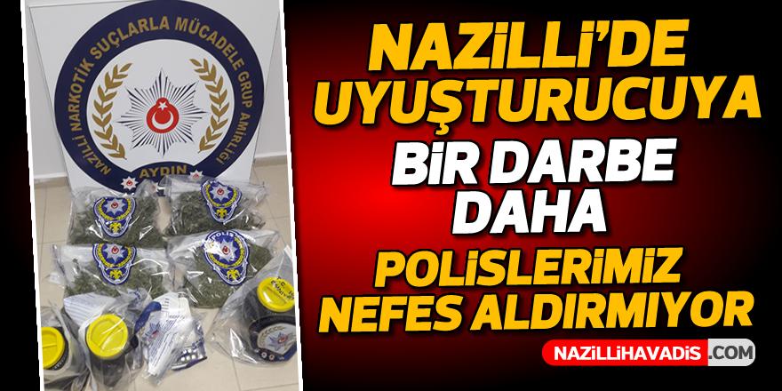 Nazilli'de uyuşturucu operasyonu; 3 gözaltı