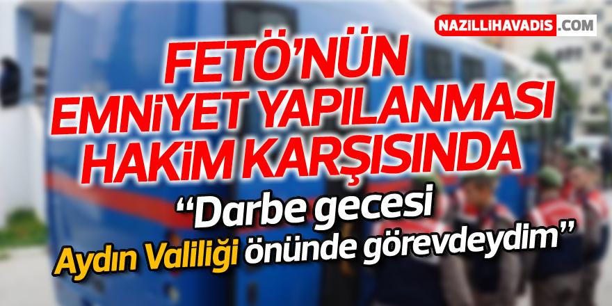 Aydın'da FETÖ'nün emniyet yapılanması davası