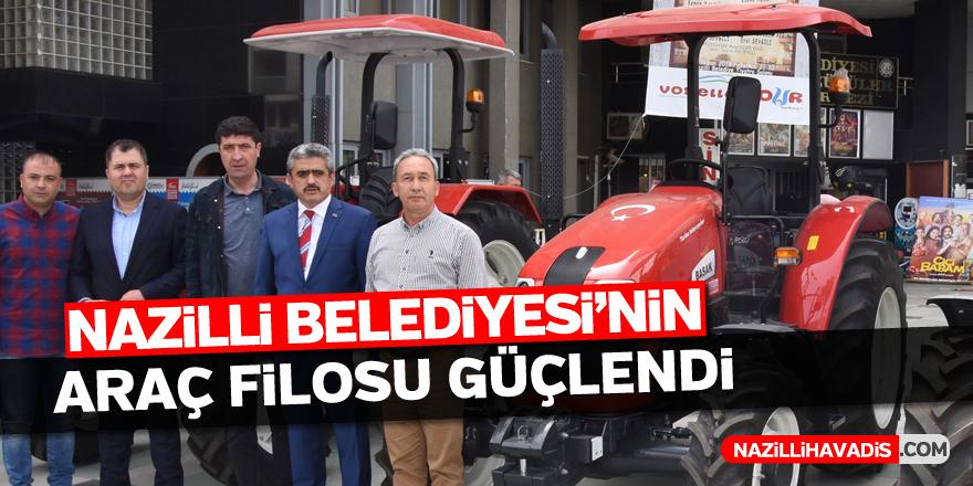 Nazilli Belediyesi'nin araç filosu güçlendi
