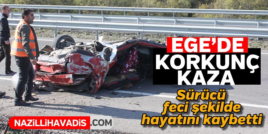 Ege'da korkunç kaza