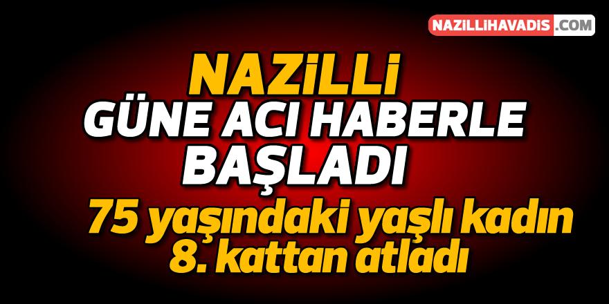 Nazilli'de şok intihar