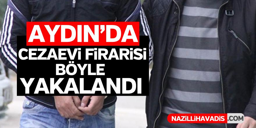 Aydın'da cezaevi firarisi kovalamaca kosunucu yakalandı