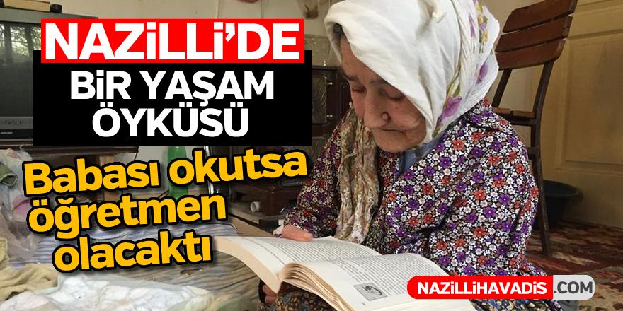 81 yaşında tüm gününü kitap okumakla geçiriyor