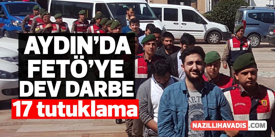 Aydın'da FETÖ'nün TSK ve emniyet yapılanmasına operasyon