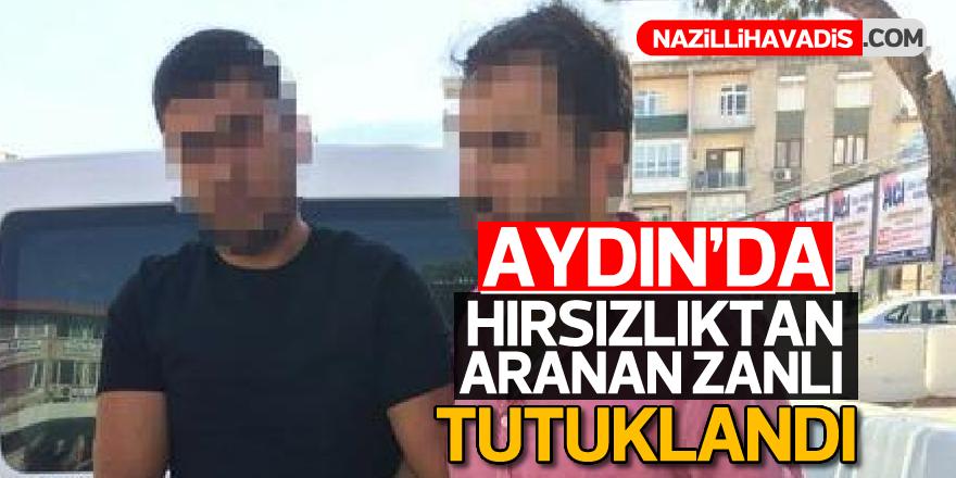 Aydın'da hırsızlıktan aranan zanlı tutuklandı