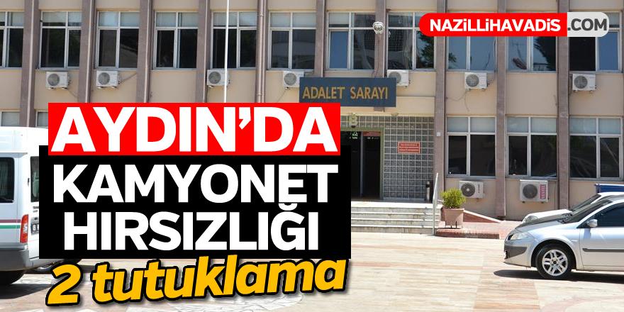 Aydın'da kamyonet hırsızlığı