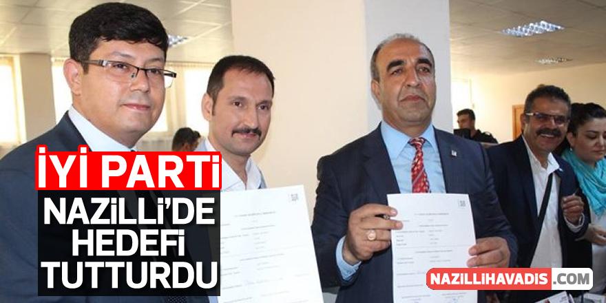 İYİ Parti Nazilli'de Hedefi Tutturdu