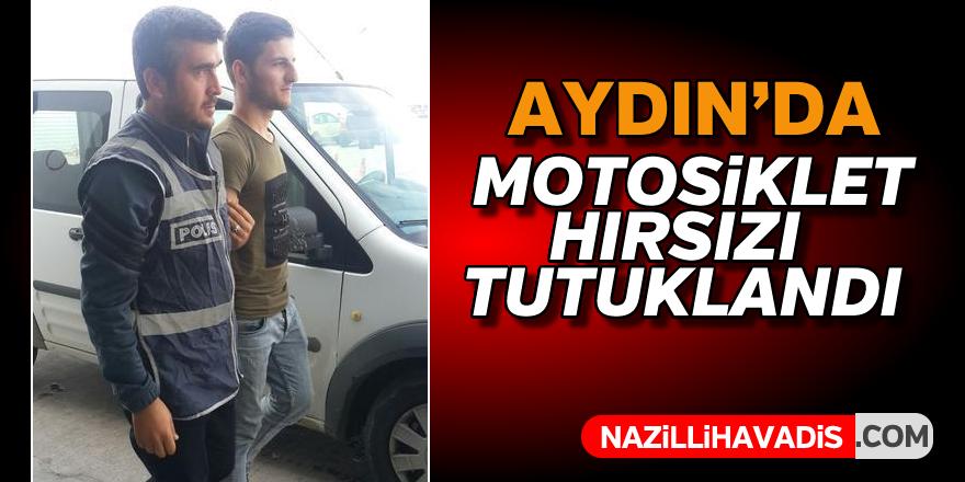Aydın'da motosiklet hırsızı tutuklandı