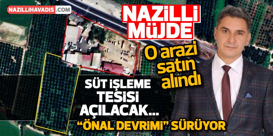 """Nazilli'de """"ÖNAL DEVRİMİ"""" sürüyor"""