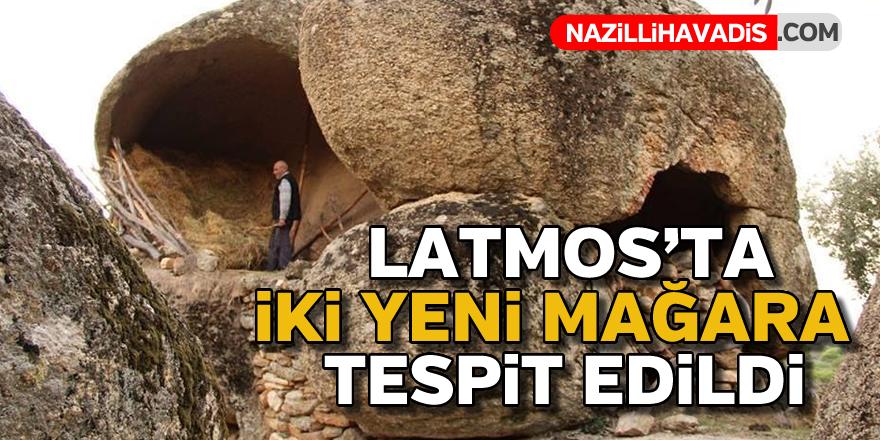 Latmos'ta iki yeni mağara bulundu