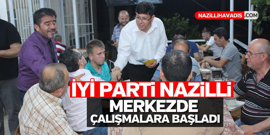 İYİ Parti Nazilli merkezde çalışmalara başladı