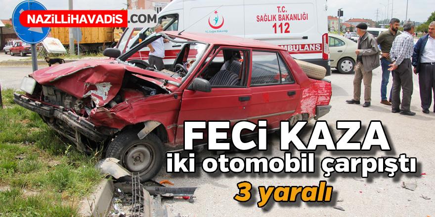 Feci kaza ! 3 yaralı