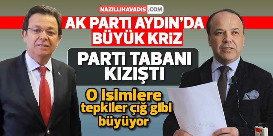 AK Parti Aydın'da büyük kriz