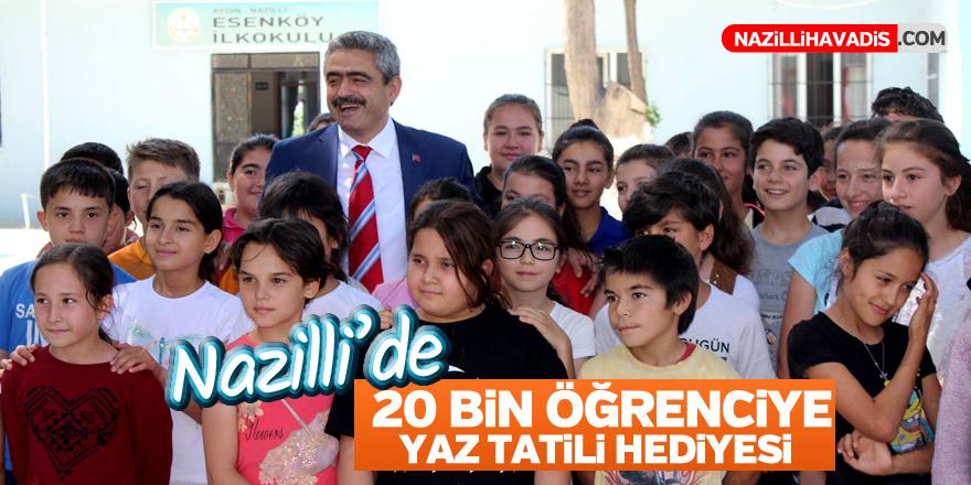 Başkan Alıcık'tan 20 bin öğrenciye yaz tatili hediyesi