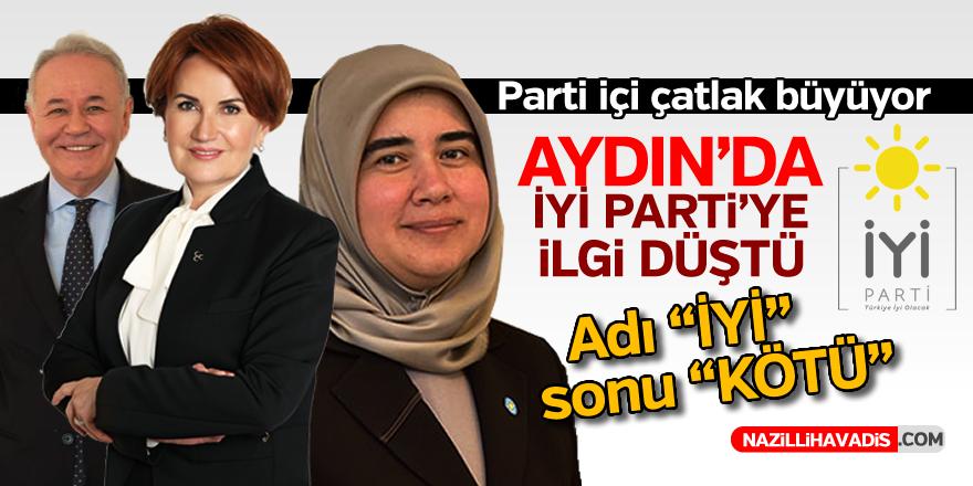 Aydın'da İYİ Parti'ye ilgi düştü