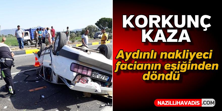 Korkunç kaza !