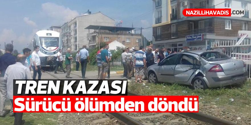 Aydın'da tren kazası; 1 yaralı