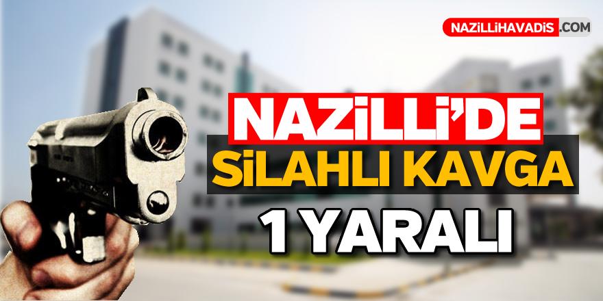 Nazilli'de silahlar konuştu; 1 yaralı