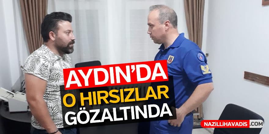 Aydın'da o hırsızlar gözaltında