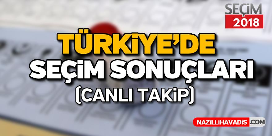 Türkiye'de seçim sonuçları