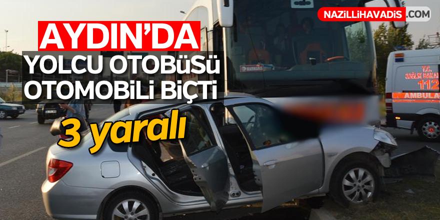 Aydın'da yolcu otobüsü dehşet saçtı; 3 yaralı