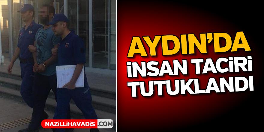 Aydın'da insan taciri tutuklandı