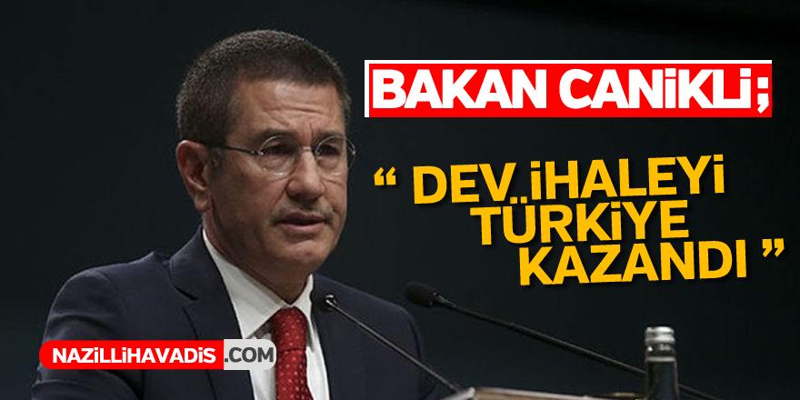 Dev ihaleyi Türkiye kazandı