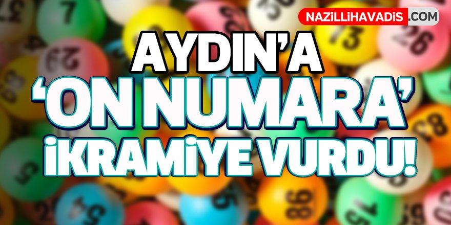 Aydın'a On Numara İkramiye Vurdu!