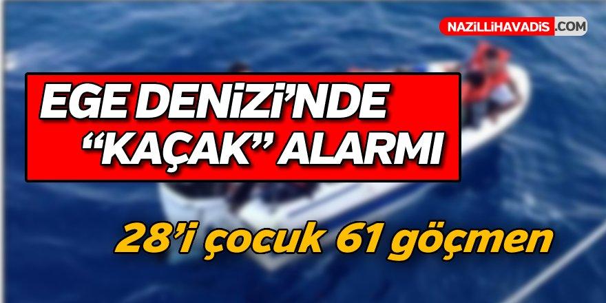 Ege Denizi'nde Kaçak Alarmı