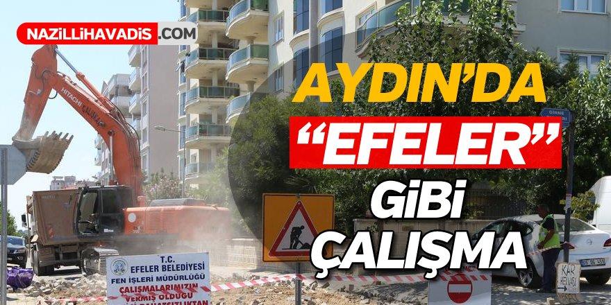 Aydın'da Efeler Gibi Çalışma
