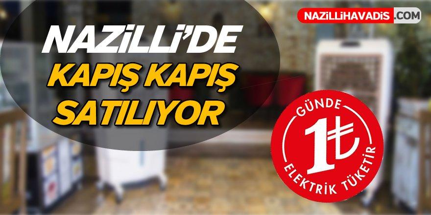 Nazilli'de kapış kapış satılıyor günde 1TL'ye