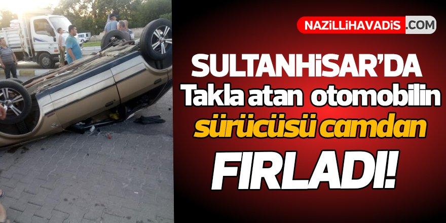 Sultanhisar'da Kaza!