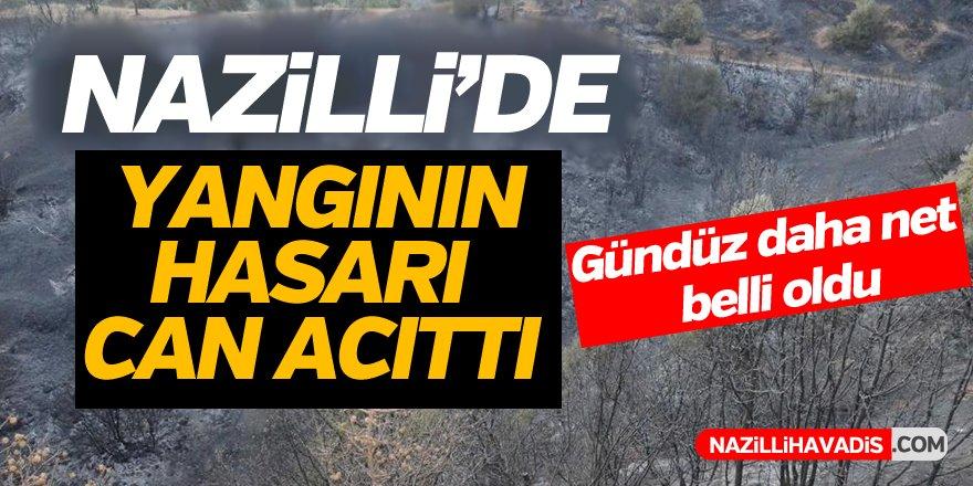 Nazilli'de Yangın Büyük Hasar Bıraktı