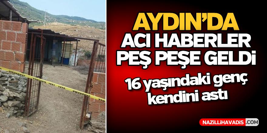 Aydın'da 16 yaşındaki genç kendini astı