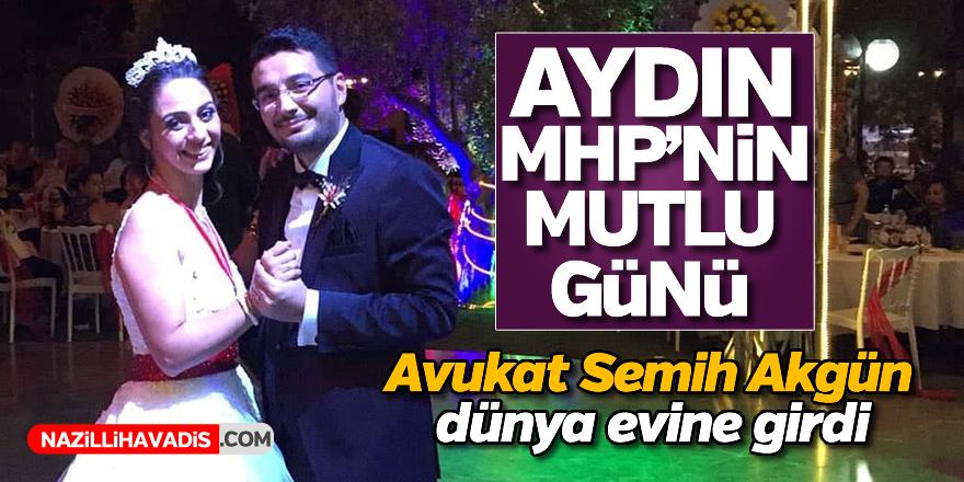 Avukat Semih Akgün dünya evine girdi