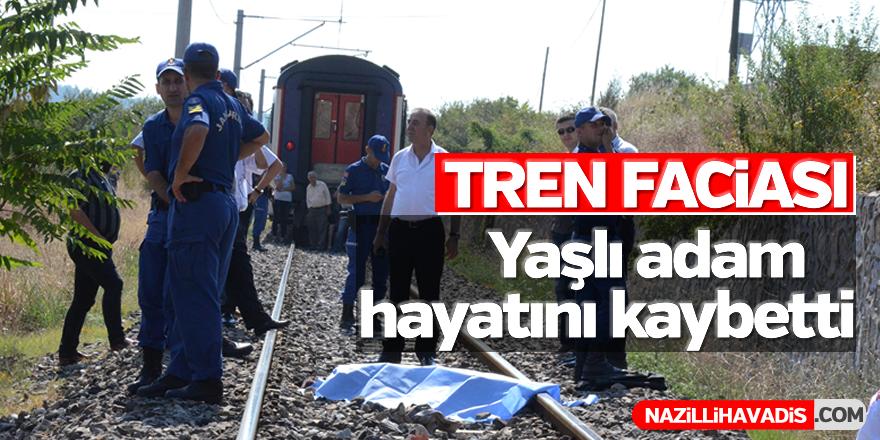 Tren faciası; 1 ölü