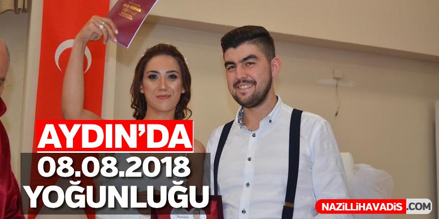 Aydın'da 08.08.2018 yoğunluğu