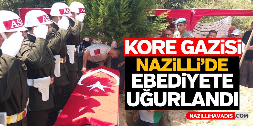 Kore Gazisi Nazilli'de son yolculuğuna uğurlandı