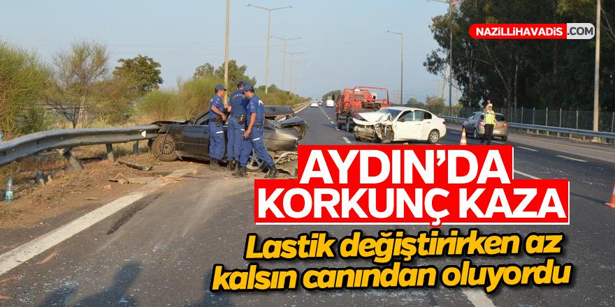 Aydın'da kaza; 3 yaralı