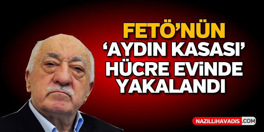 """FETÖ'nün Aydın'daki """"kasası"""" hücre evinde yakalandı"""