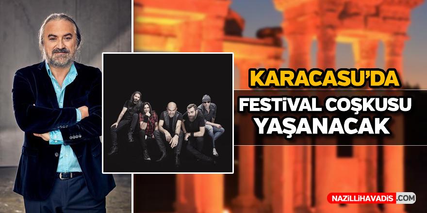 Karacasu'da festival coşkusu yaşanacak