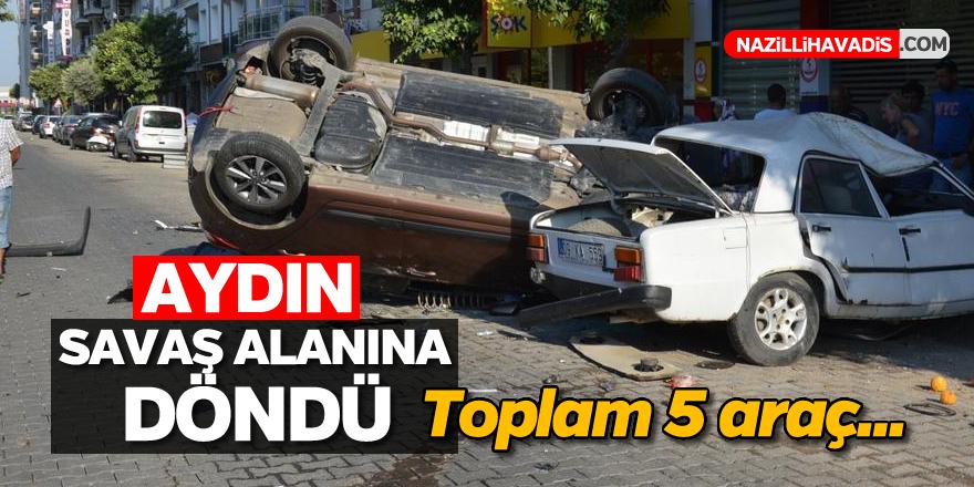 Aydın'da dehşet verici kaza