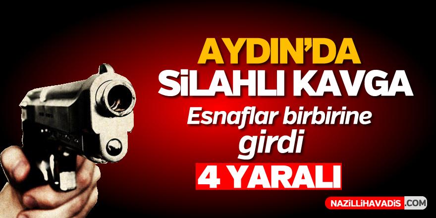 Aydın'da silahlı kavga; 4 yaralı